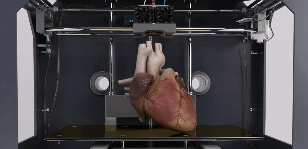 הדפסת תלת מימד טקסט רץ הוצאה לאור הדפסת אברים