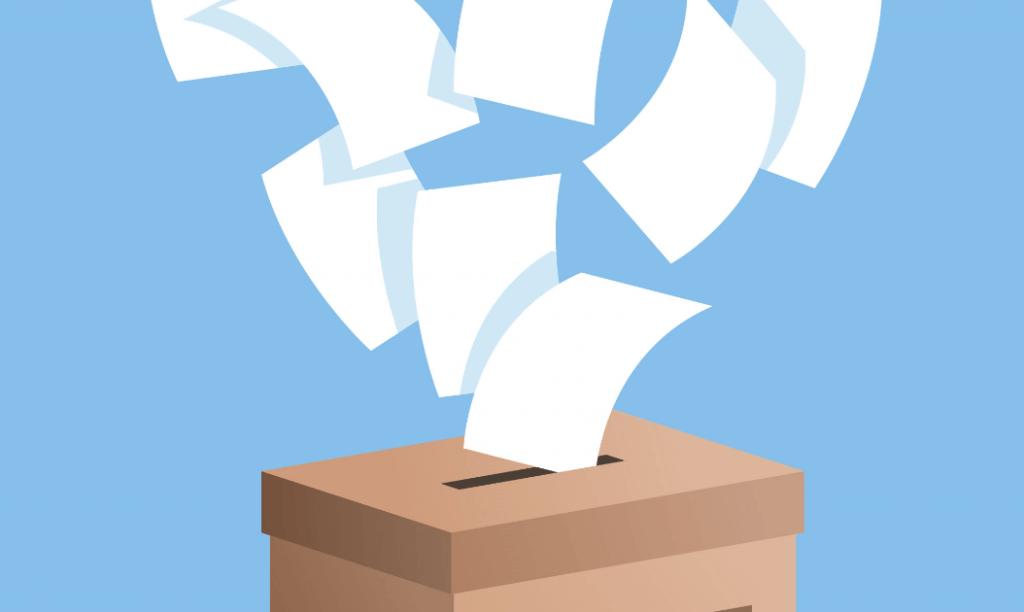 כמה נייר נכנס לקלפי בחירות טקסט רץ הוצאה לאור