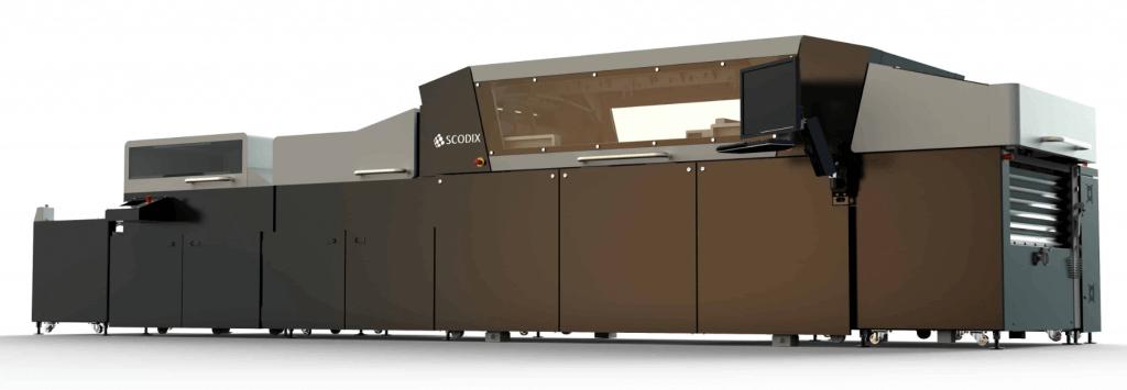 הוצאה לאור כל סוגי הדפוס לכה סקודיקס מכונת סקודיקס Ultra2 Pro עם סחיטה דיגיטלית ושיפור לחץ
