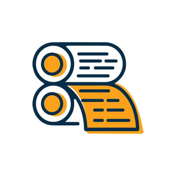 הדפסת ספרים - שלב 12 בשלבי הוצאת ספרים | טקסט רץ הוצאה לאור