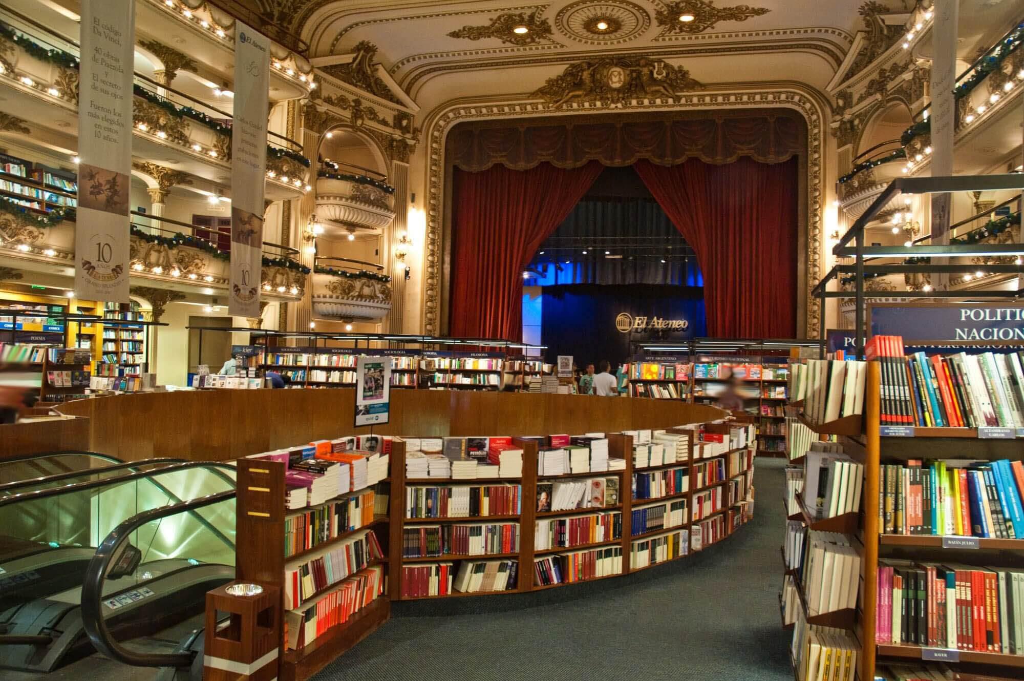 חנויות הספרים היפות בעולם - בואנוס איירס א